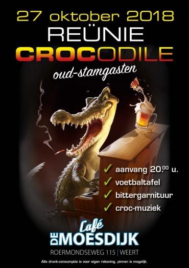Reünie Crocodile - oud stamgasten