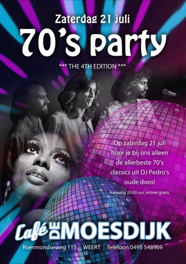 70's party - the 4th edition